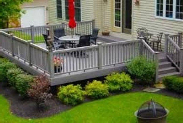 deck landscaping ideas on 25 Deck Ideas In 2021 Deck Backyard Backyard Deck