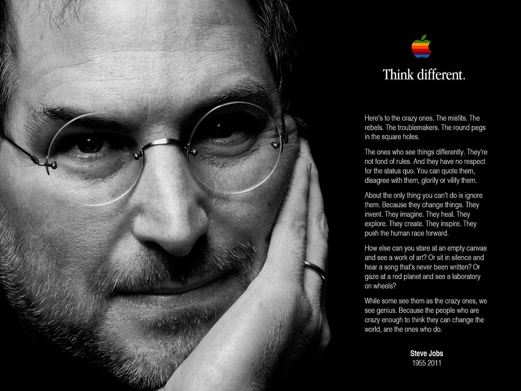 The Man Who Thought Different Quotes To Motivate Steve Jobs Te