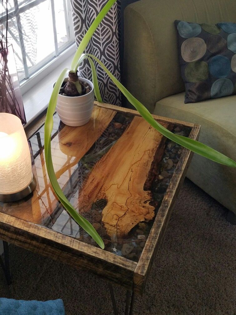 Outside End Table Ideas
