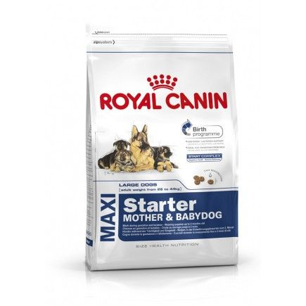 Royal Canin Maxi Starter Dog Food 15kg With Images Royal Canin Dog Food Dog Food Online Dog Food Recipes