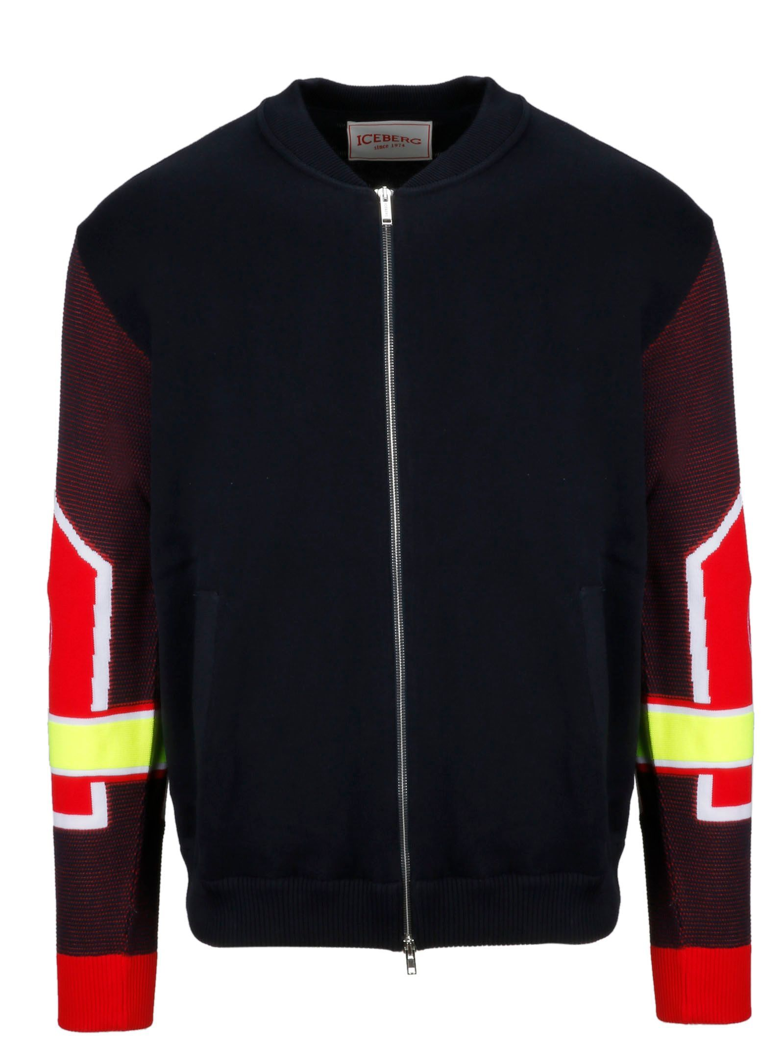 Iceberg Men S Ao0176046689 Black Cotton Sweatshirt Modesens Black Cotton Sweatshirt Cotton Sweatshirts Jackets [ 2133 x 1600 Pixel ]