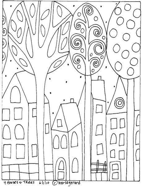 раскраски Карла Жерар 2 | Живопись | Pinterest | Bordado, Colorear y ...