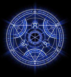 'Human Transmutation Circle' Photographic Print by R-evolution GFX