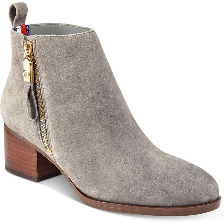 5b56c05a Tommy Hilfiger Reiz Ankle Booties Women's Shoes | Products | Tommy ...