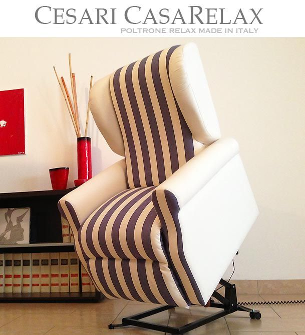 Poltrone Relax Made In Italy.Poltrone Relax Di Cesari Casa Relax Quando L Eleganza Sposa La