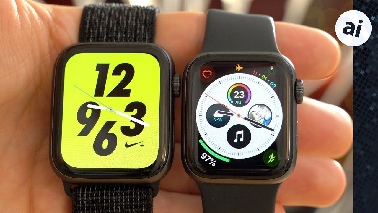 Should you buy the Nike+ or standard Apple Watch Series 4
