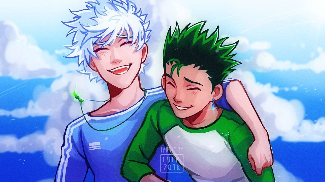 No Matter Where We Go We Ll Always Be Friends Yeah Woweee Look At Me Comming Back To Tumblr Look Forward To Lots Of Hunter X Hunter Hunter Anime Hunter