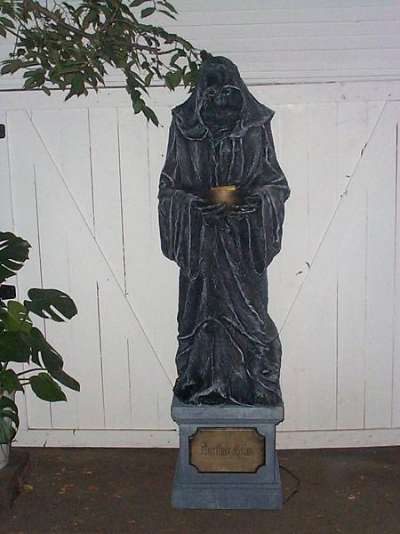 cemetery halloween ideas Merlins Reaper Stone The Halloween - halloween haunted house ideas