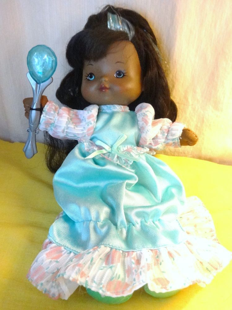 Vintage 1990's DREAMIE SWEETS Goody Dreams African American Doll DSI Toys #LightupDoll