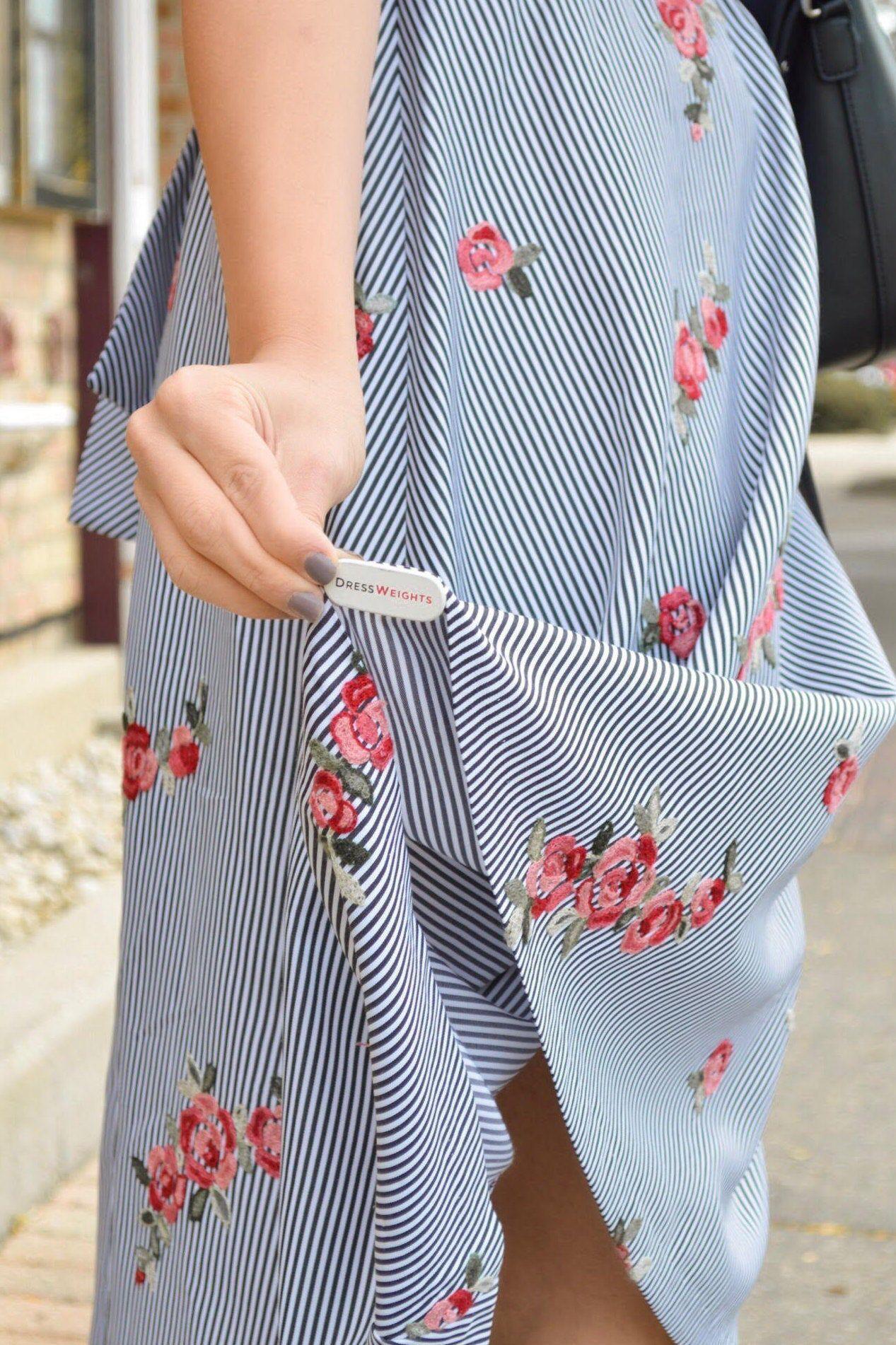 DressWeights: A Windy Day Fashion Fix | Clothing hacks ...