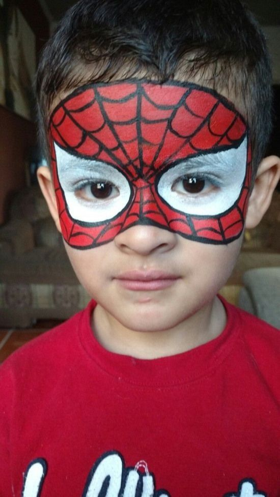 38 Spiderman Face Painting Ideas For Kids Ad 1 38 Spiderman Face Painting Ideas For Kids In 2020 Face Painting Halloween Face Painting Easy Superhero Face Painting