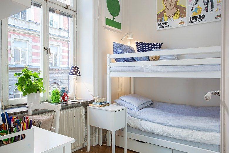 68 m² sin pasillos Salón nórdico, Decoracion pisos pequeños y Piso