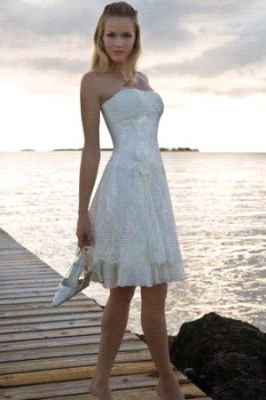 Short Wedding Dresses QW649 | Mini wedding | Pinterest | Short ...