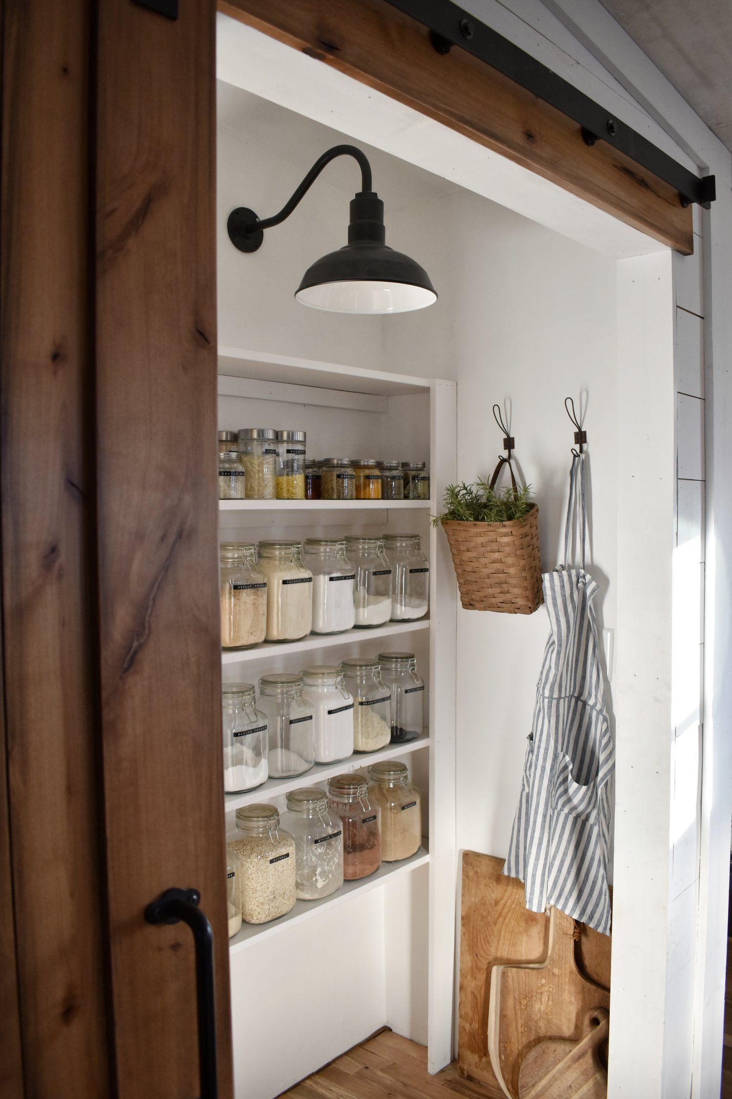 Pantry Lighting For The Kitchen Organization Ideas