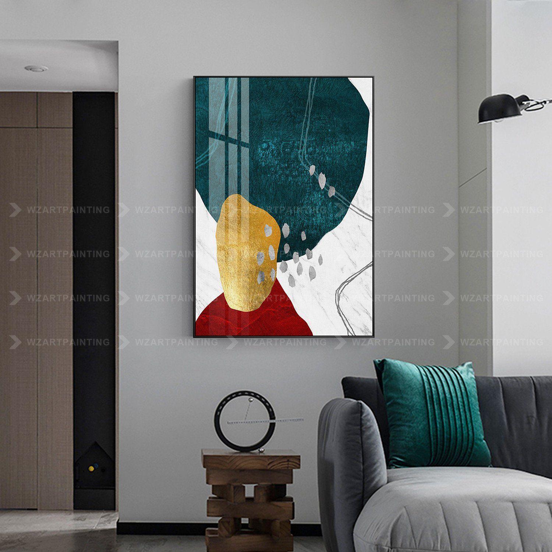 Framed Wall Art Gold Stone Abstract Acrylic Dark Green Print Etsy Abstract Acrylic Wall Canvas Painting Framed Wall Art