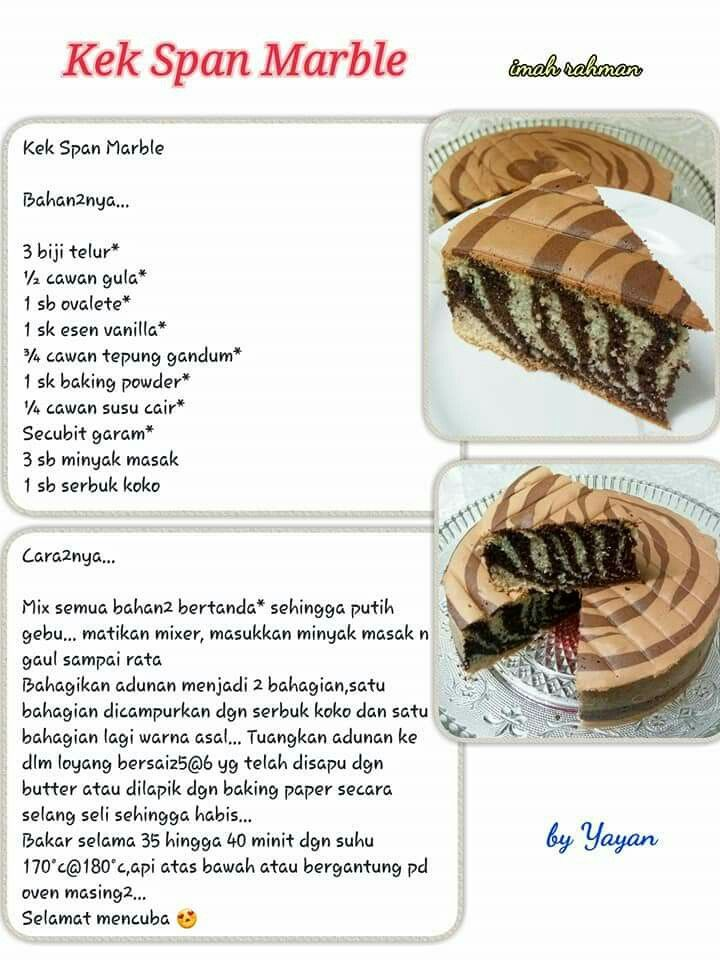 Pin Oleh Izzah Umarella Di Resep Untuk Dicoba Makanan Makanan Dan Minuman Resep Kue