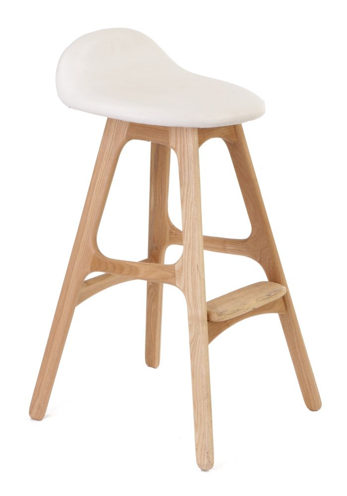 Replica Erik Buch Bar Stool 66cm Ash Beech By Matt Blatt