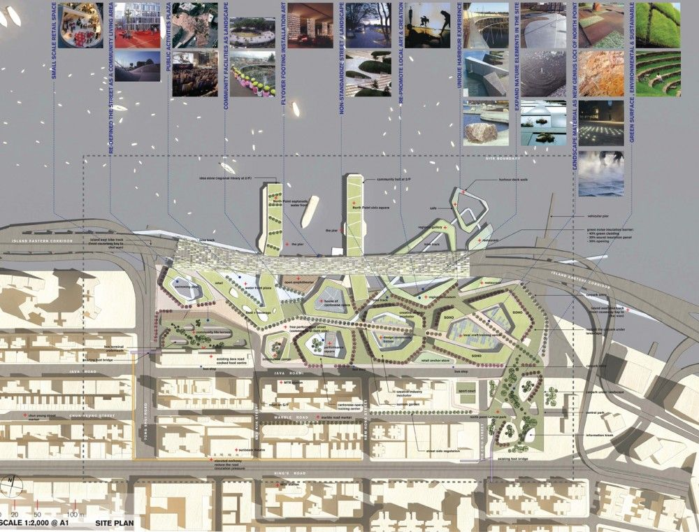 Gallery Of North Point Harbour Urban Planning Concept Winning