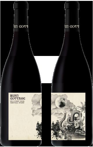 package design - Burn Cottage Vineyard