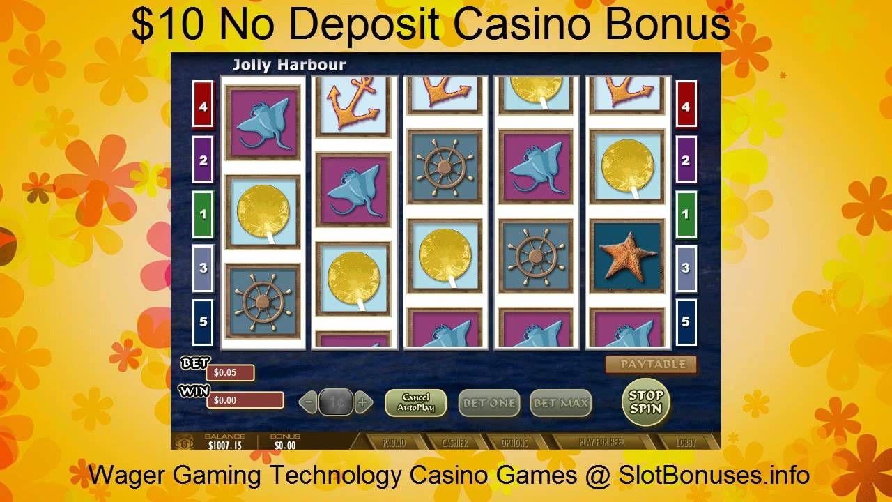 Jolly Harbour FREE No Deposit Bonus & WGT Casino Games