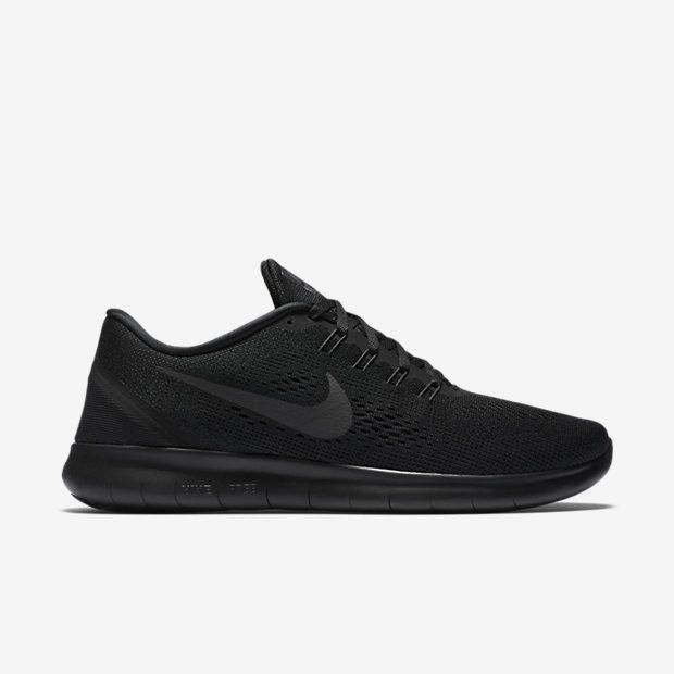 Nike Free RN CMTR Men's Running Shoe Black/Black/Black