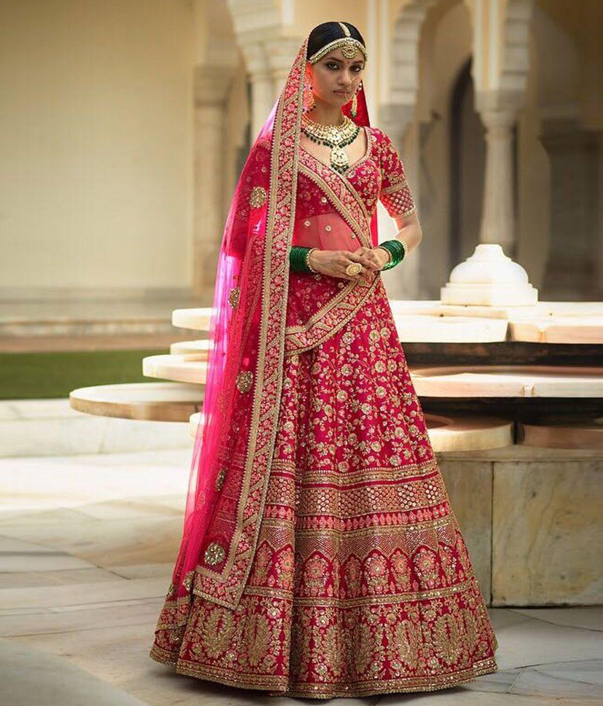 2717b51d78 Lotus Pink Banarasi Silk Bridal Lehenga | Wedding Lehenga | Bridal ...