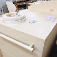 ひとつの洋室を兄弟で仕切る2段ベッド[神戸市中央区] | オーダー家具工房 アートワークス: bespoke furniture artworks kobe