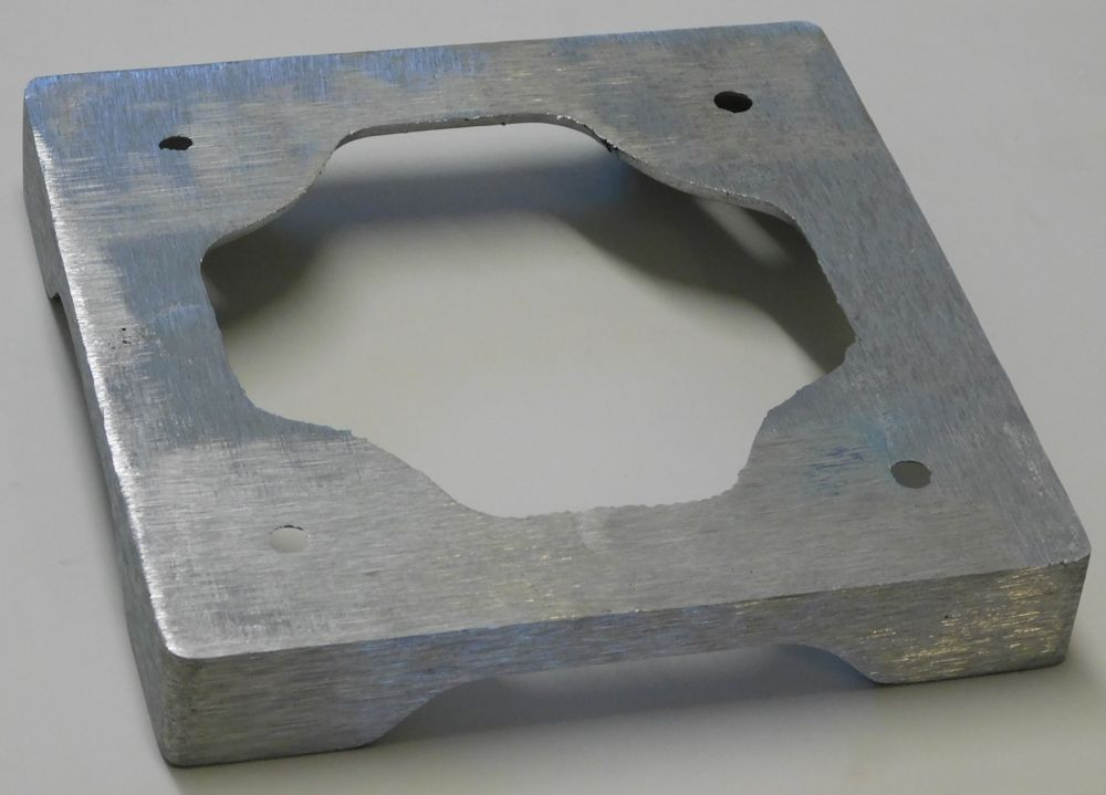 10 X 10 Aluminum Post Pedestal Base Aluminum Step Stool Pedestal