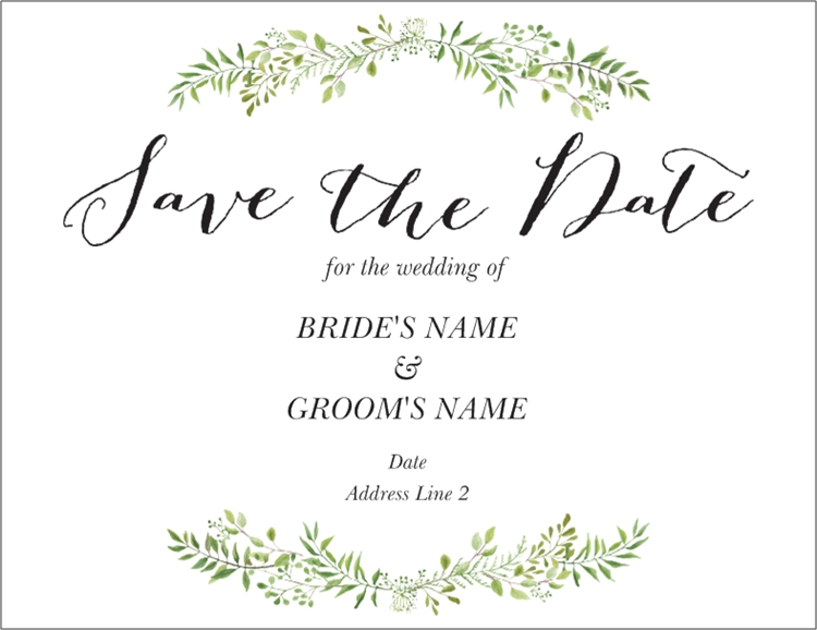 Save the Date Wedding save the dates, Save the