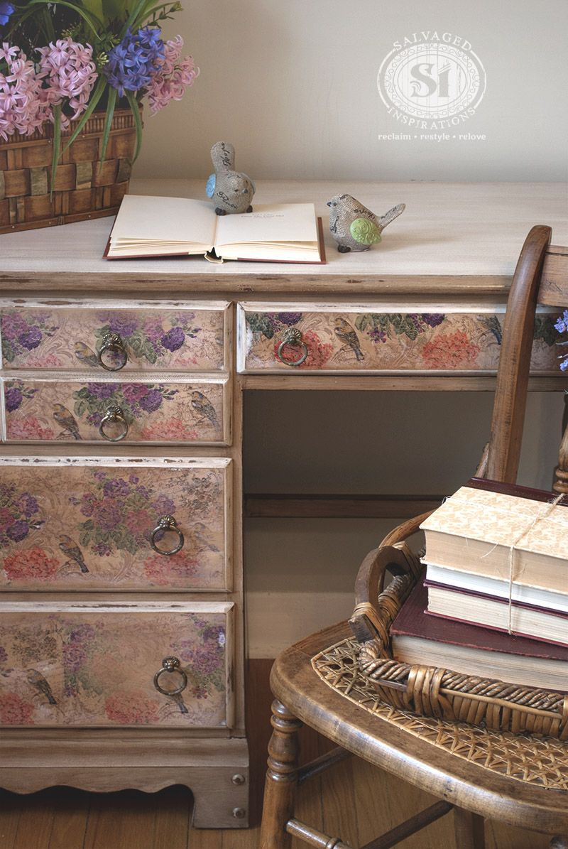 decoupage ideas for furniture. How To Decoupage With Napkins. Painting FurnitureDiy Ideas For Furniture F