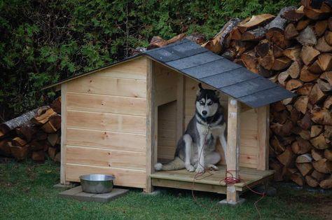 construire-une-niche-pour-chien-en-palette