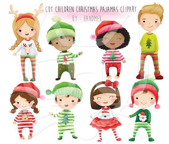 48++ Christmas pajama day clipart information