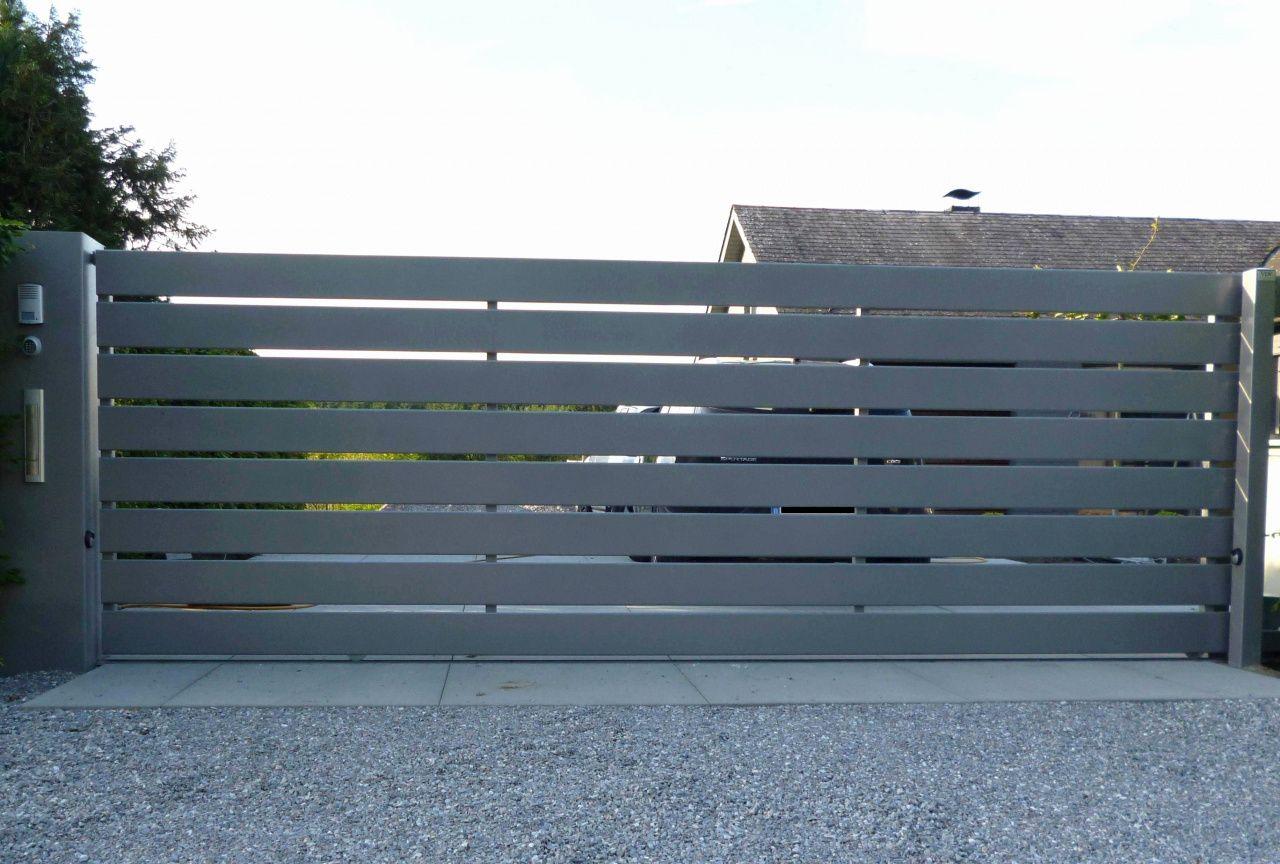 Faire Son Portail En Fer 70 fabriquer un portail coulissant en bois | portail