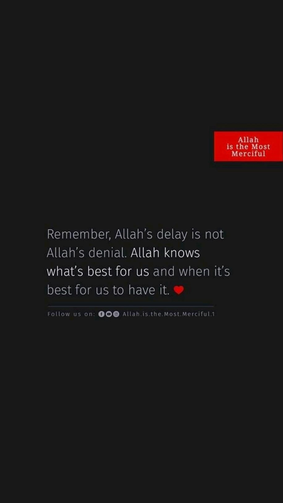 be patient and just pray🤲🏻