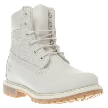 timberland 6 inch premium embossed grey boots