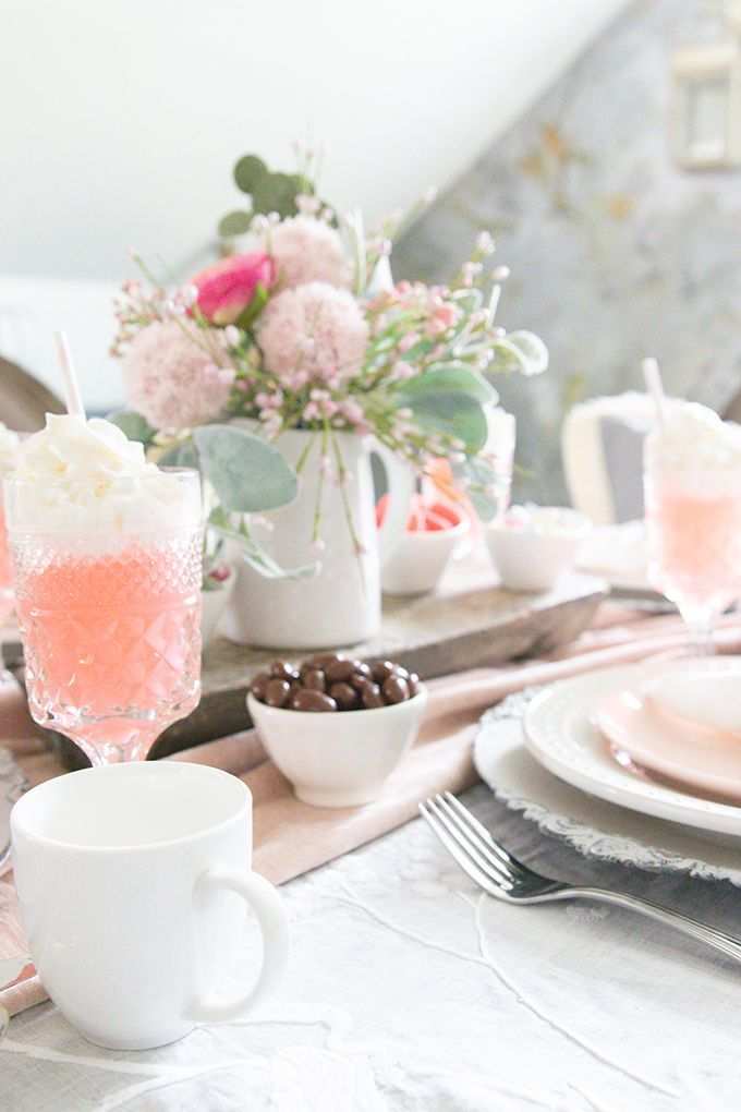 Photo of Valentine's Table Setting