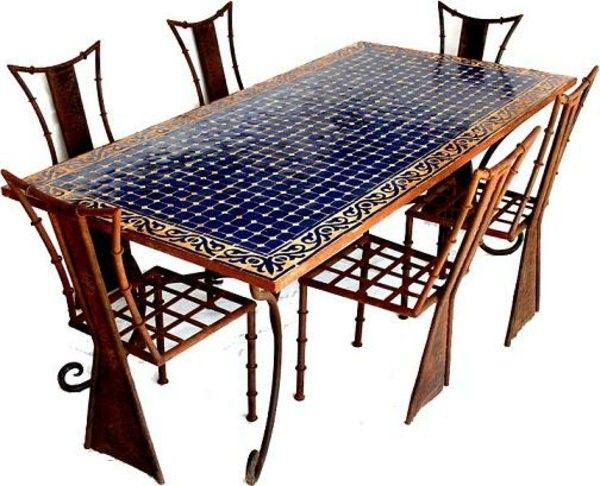 saver mosaic table very large design it with chairs
