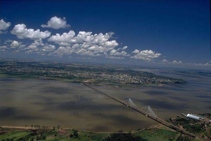 Puente San Roque González de Santa Cruz (Encarnación,PARAGUAY-Posadas,ARGENTINA) - SkyscraperCity