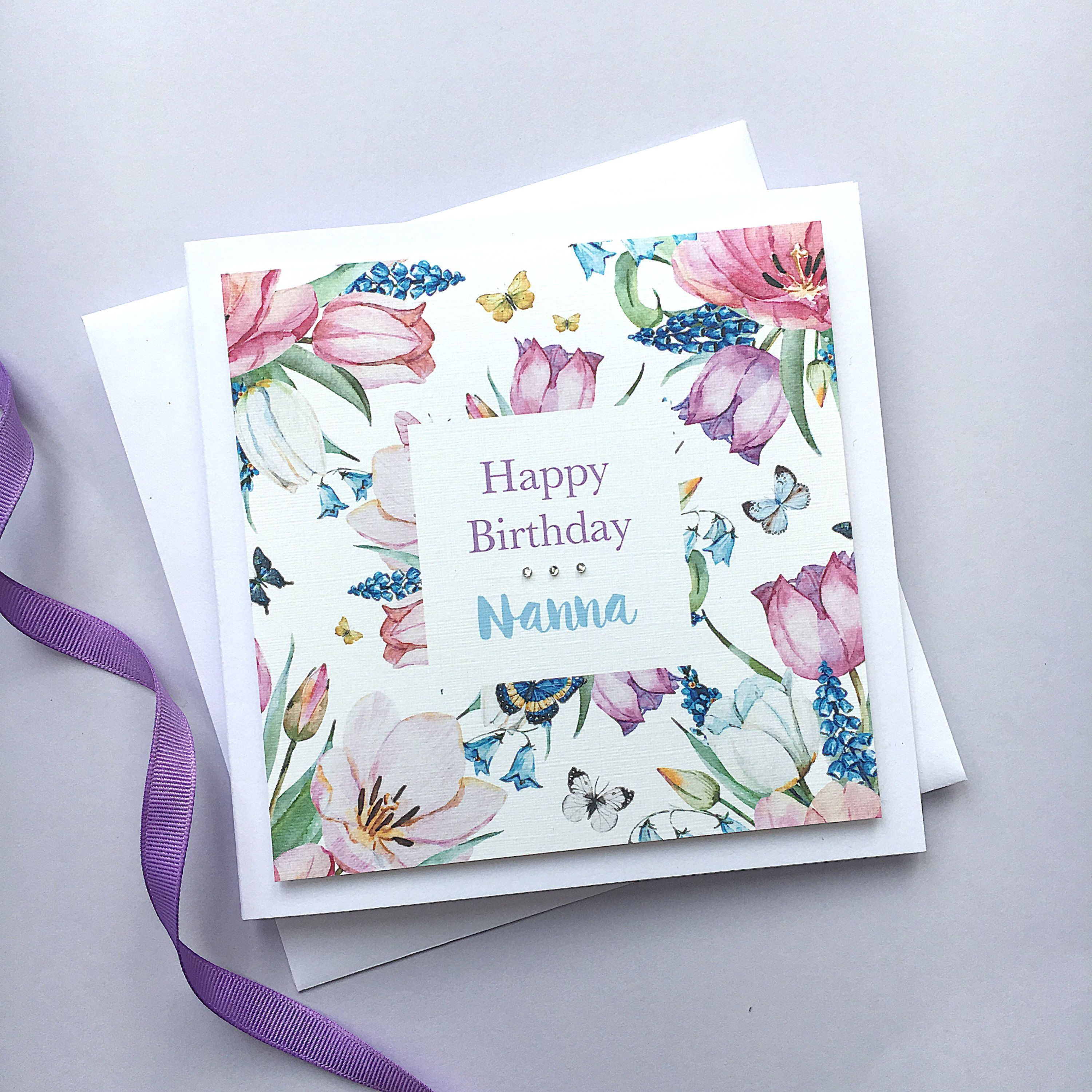 Personalised Birthday Card Best Friend Mum Sister Cute Mothers Day