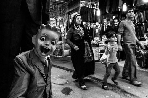 Protest by Seyed Mohammad Moravej
