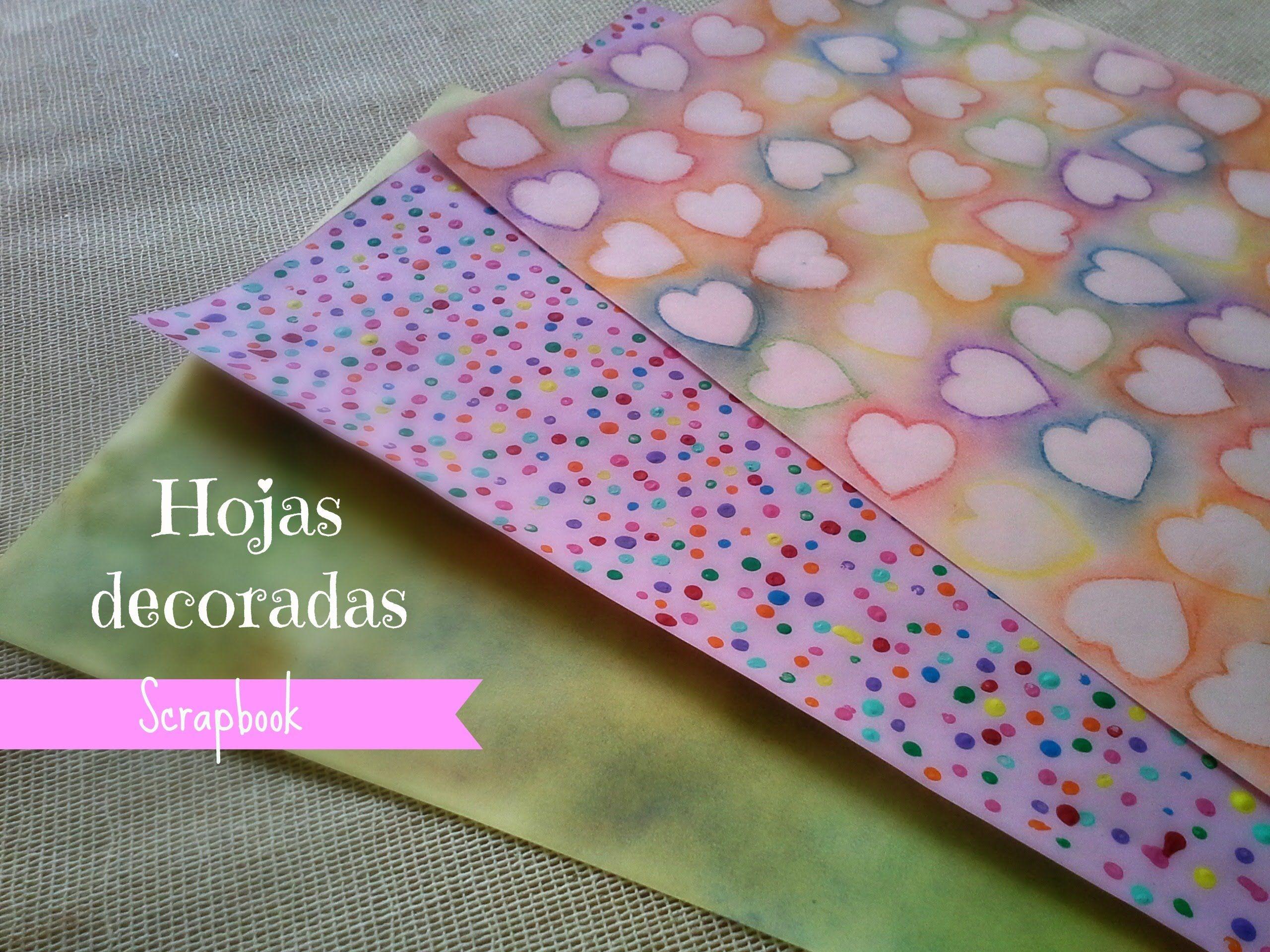 Faire ses propres feuilles d coratives hojas decoradas - Faire ses propres stickers muraux ...