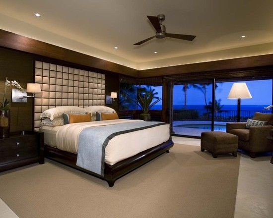 This Is So Awesome Not To Crazy About The Decor But The Room It S Self Is Amazing Tropical Bedrooms Bedroom Views Bedroom Design