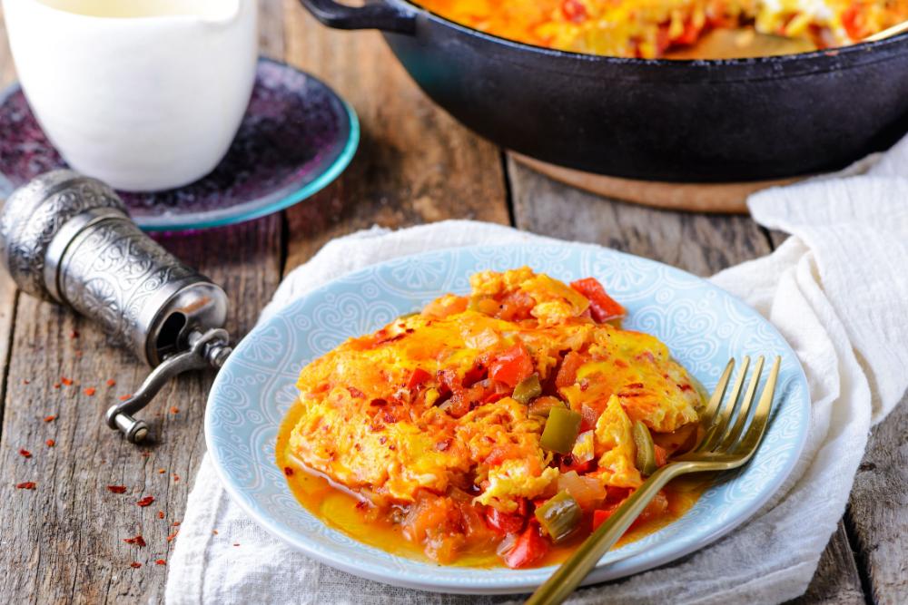 Try This Menemen Recipe If You Love Veggie Omelets