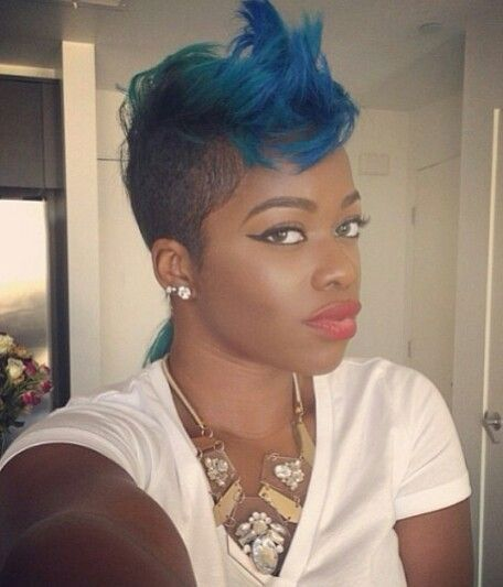 50 Mohawk Hairstyles For Black Women Stayglam Mohawk Hairstyles Womens Hairstyles Hair Styles