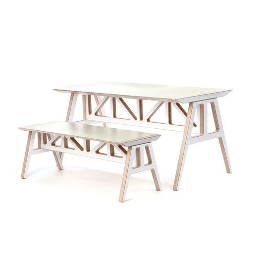 Context Furniture Truss 2 Piece Dining Set