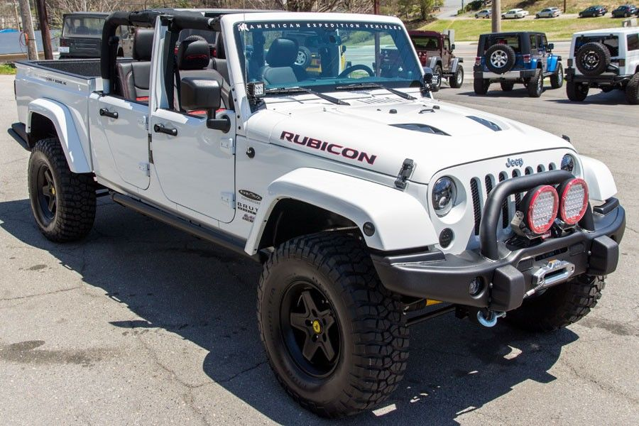 Aev Brute Double Cab Jeep Pickup With Half Doors My Ultimate