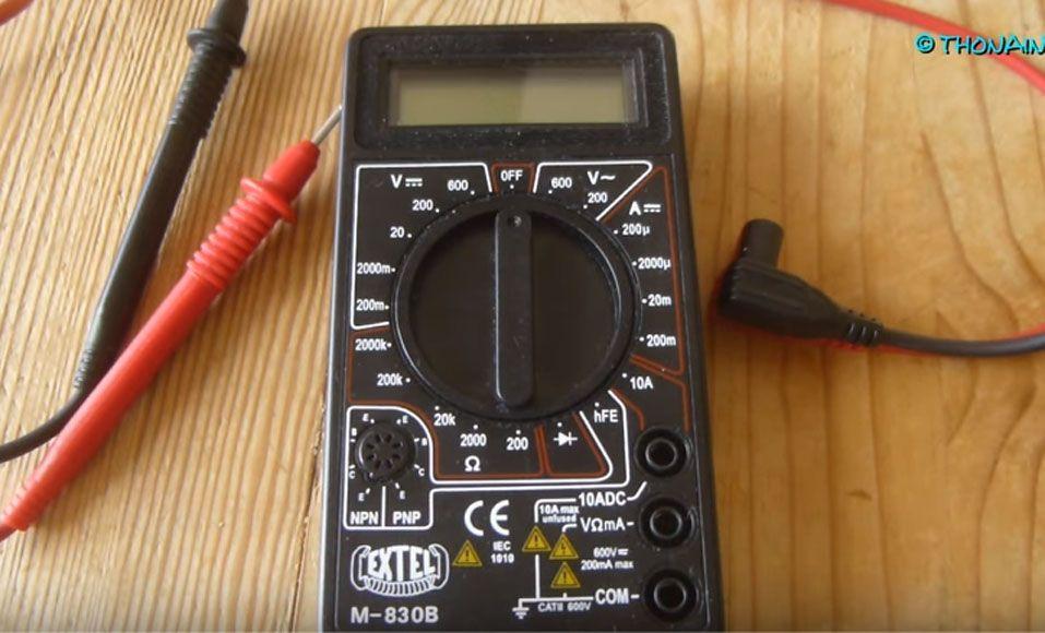 Mode Demploi Se Servir Dun Multimètre Electrique