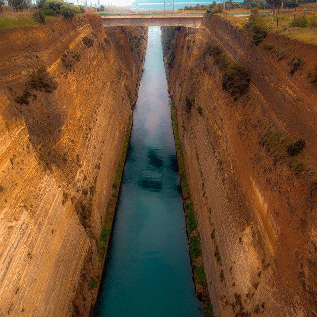 """Corinth canal !!!"""