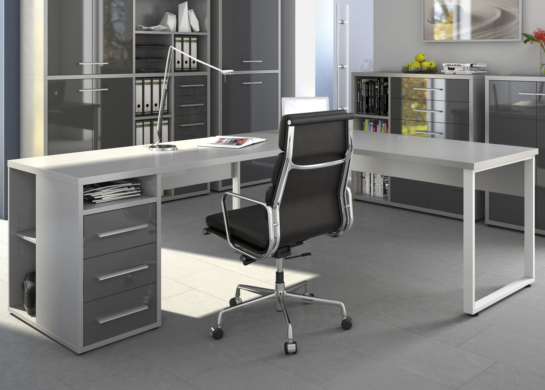 Schreibtisch büro  Tolle büro schreibtisch über eck | Büro - Schreibtisch | Pinterest ...