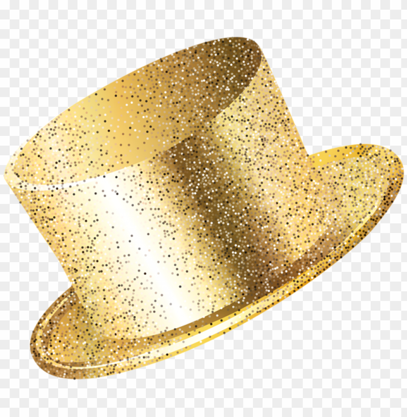New Year Party Hat Gold Png Image With Transparent Background Png Free Png Images New Years Party Party Hats Newyear